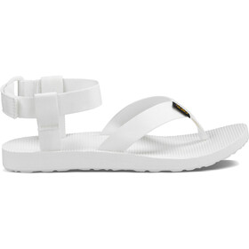 Teva W's Original Sandals Solid White